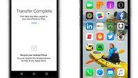 iOS 9: Automatische Datenmigration von Android möglich