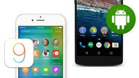 iOS 9 vs. Android M: Vergleich der mobilen Betriebssysteme in Bildern