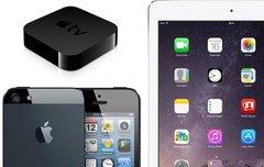 iPad Air 32 GB für 349 Euro, Apple TV für 50 Euro, iPhone 5 für 250 Euro