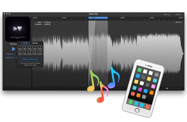 Ringtone Maker i39 für Mac stark reduziert – für iPhone-Klingeltöne
