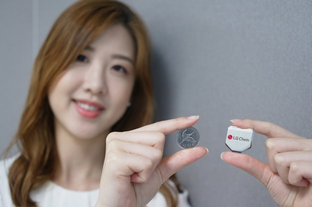 LG stellt stärkere Akkus in Sechseckform für Smartwatches vor