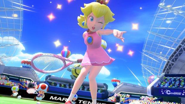Mario Tennis Ultra Smash: Neuer Trailer von der E3