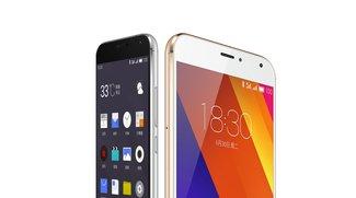 Meizu MX5: Flaggschiff-Smartphone im edlen Design