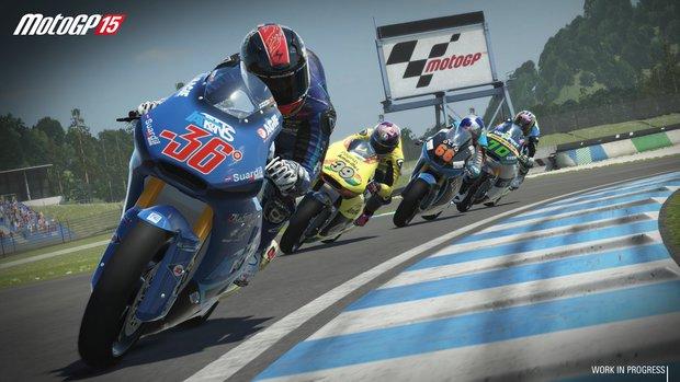 MotoGP 15: Launch-Trailer zum heutigen Release