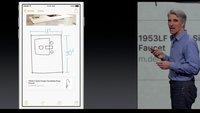Notiz-App von iOS 9: Handskizzen, Listen und mehr