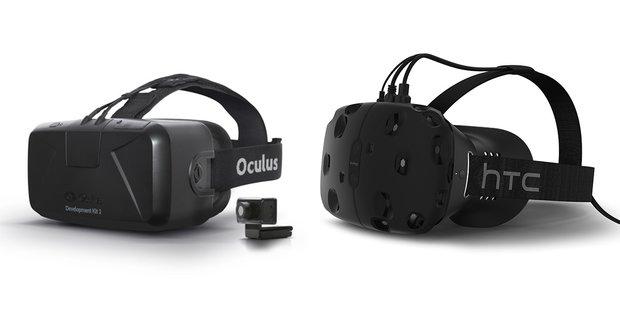 HTC Vive vs. Oculus Rift: Welche VR-Brille ist besser?