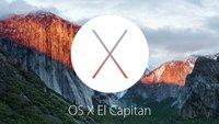 OS X El Capitan wird unser neues Mac-Betriebssystem