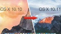 OS X 10.11 El Capitan ist da! Download und Installation, so gehts