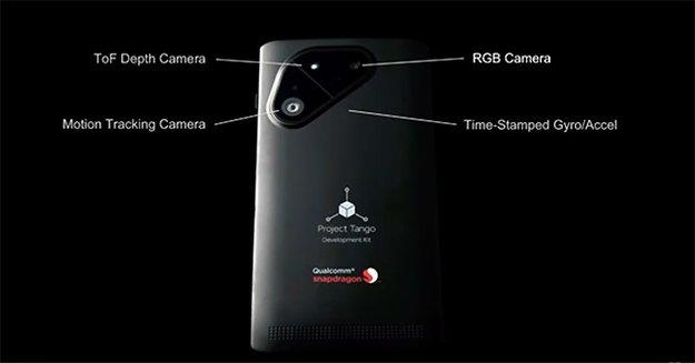 Project Tango: Smartphone mit Snapdragon 810-Prozessor zur 3D-Raumerfassung angekündigt