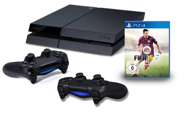 Game-Deals des Tages:<b> PS4 mit FIFA & Gaming-Zubehör zu unschlagbaren Preisen!</b></b>