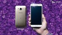 Samsung Galaxy J5 und J7: Mittelklasse-Smartphones mit Frontblitz vorgestellt