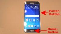 Samsung Galaxy S6 (edge): Screenshot erstellen – so geht's