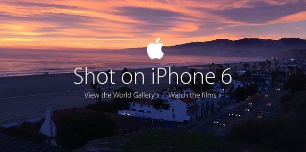 """Goldener Löwe für Apples """"World Gallery"""": iPhone 6-Kampagne gewinnt in Cannes"""
