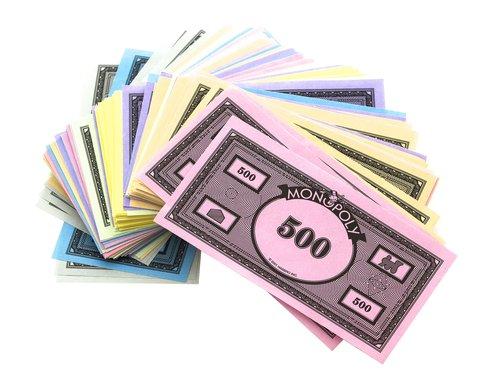 monopoly startgeld