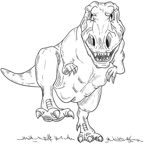 Dinosaurier Ausmalbilder Kostenlos Zum Ausdrucken Online