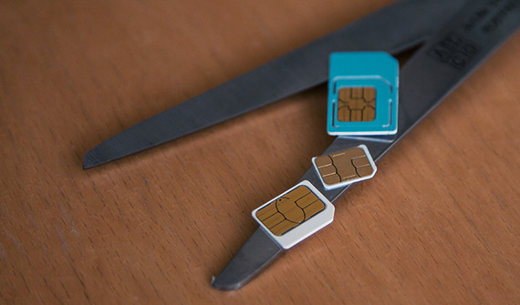 samsung a5 sim karte SIM Karte mit Schablone zuschneiden (Micro & Nano)