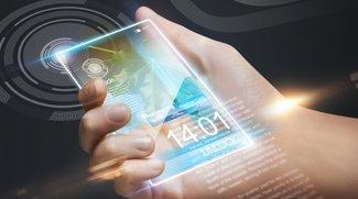 Wie werden Smartphones und Telekommunikationsgeräte in 10 Jahren aussehen und wie kommuniziert man damit? (Umfrage)