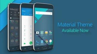 "Samsung Galaxy S6 (edge): Kostenloses Stock Android-Theme ""Material"" zum Download verfügbar"