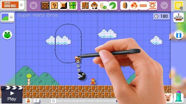 Super Mario Maker: Erstelle dein Level für Super Mario!