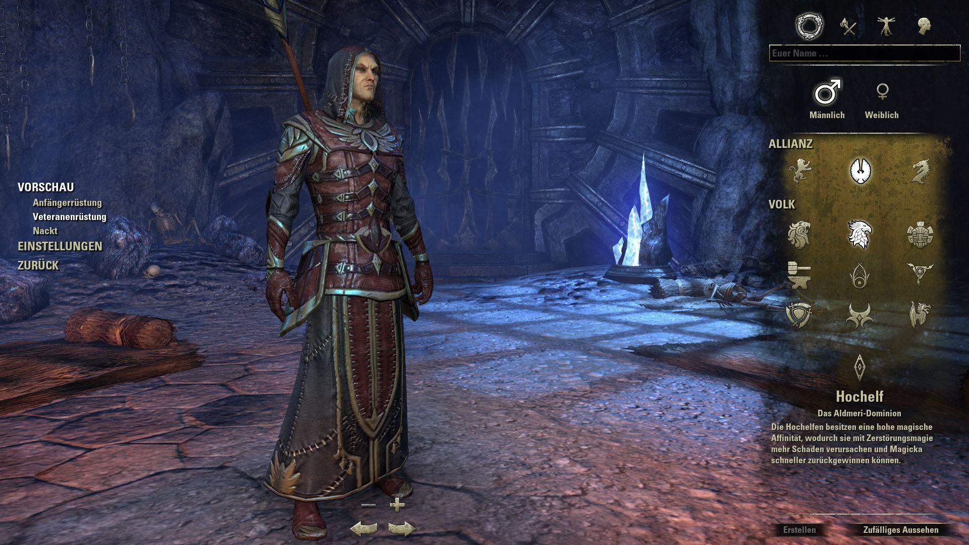 The Elder Scrolls Online Rollen Und Builds Für Den Zauberer Giga