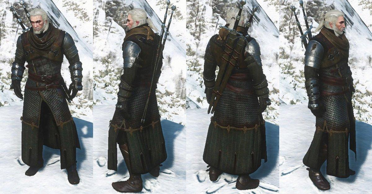 Bären Rüstung Witcher 3