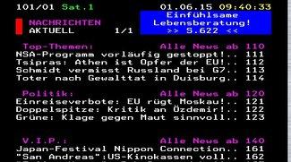 Teletext online aufrufen: Videotext von RTL, ZDF, Pro7 und Co. lesen