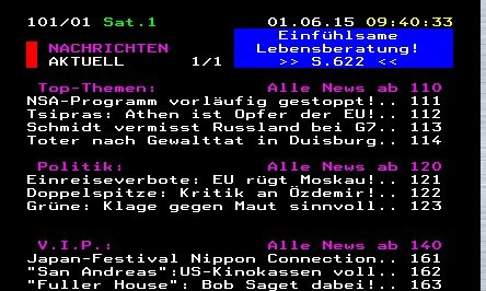 Teletext online aufrufen: Videotext von RTL, ZDF, Pro7 und ...
