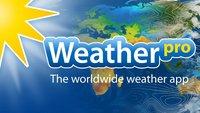 WeatherPro: Wetter-App für Android und iPhone aktuell nur 0,99 Euro