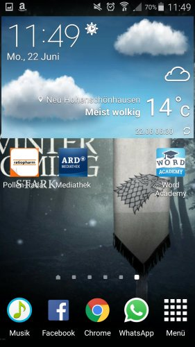 wetter-widget-android
