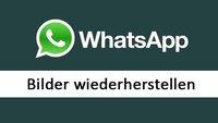 WhatsApp: Bilder wiederherstellen (Android & iOS) – so geht's