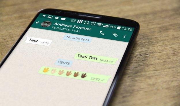WhatsApp für Android: Beta bringt Hautfarben-Emoji und Vulkanier-Gruß [APK-Download]