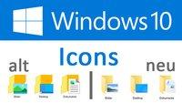 Windows-10-Icons: Neue Symbole von Microsoft
