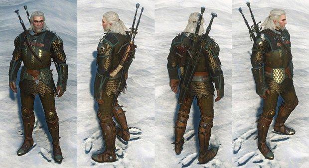 The Witcher 3: Greifen-Rüstungsset - Karte mit Fundorten