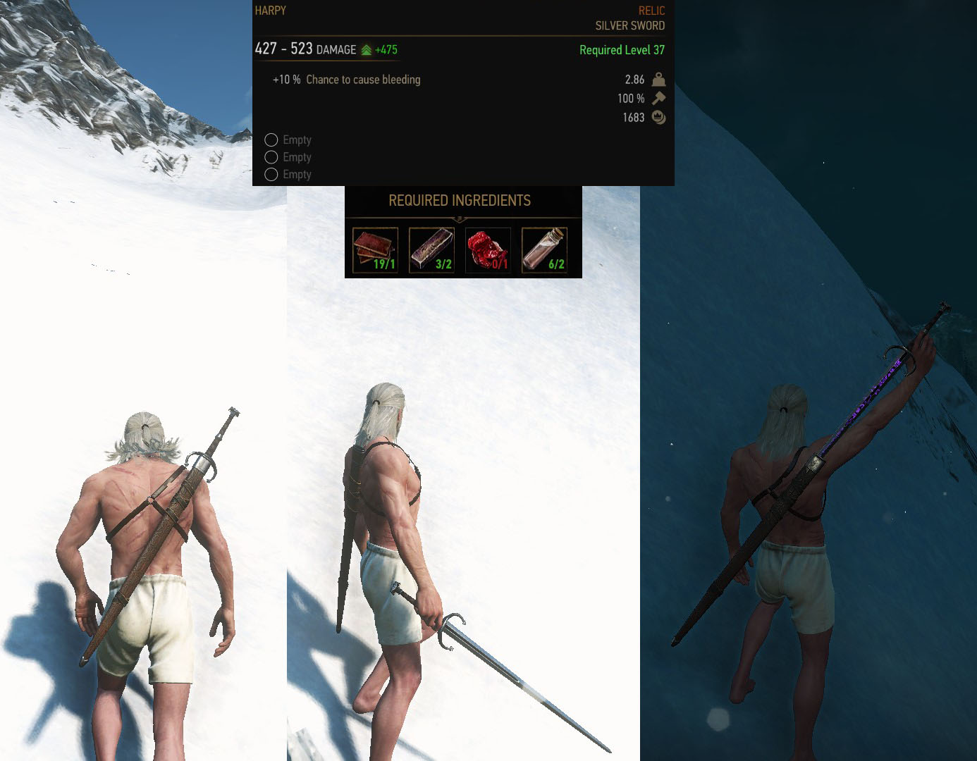 Witcher 3 Waffen
