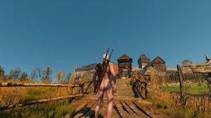Nackt-Mod für The Witcher 3: Wild Hunt