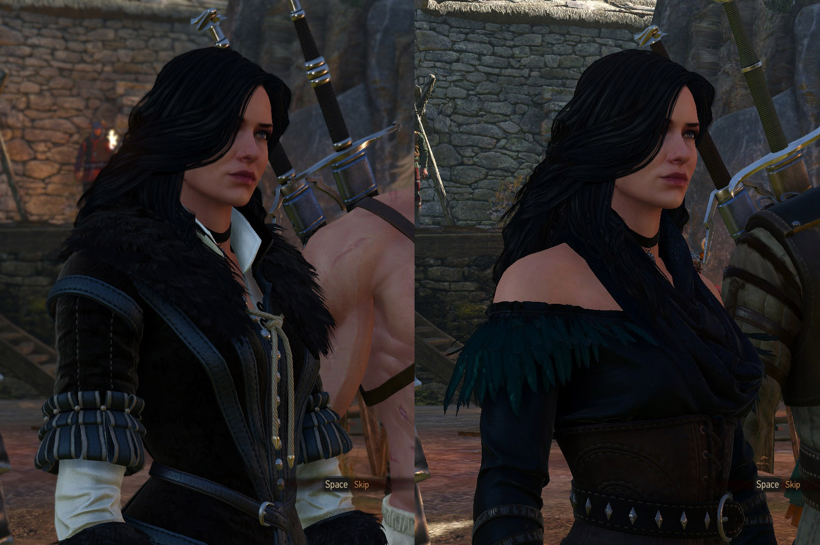 The Witcher 3 Outfits: Alternative Kostüme für Triss und Yennefer