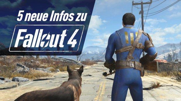 Fallout 4 - Romanzen, Dogmeat & Co: 5 neue Infos im Video!