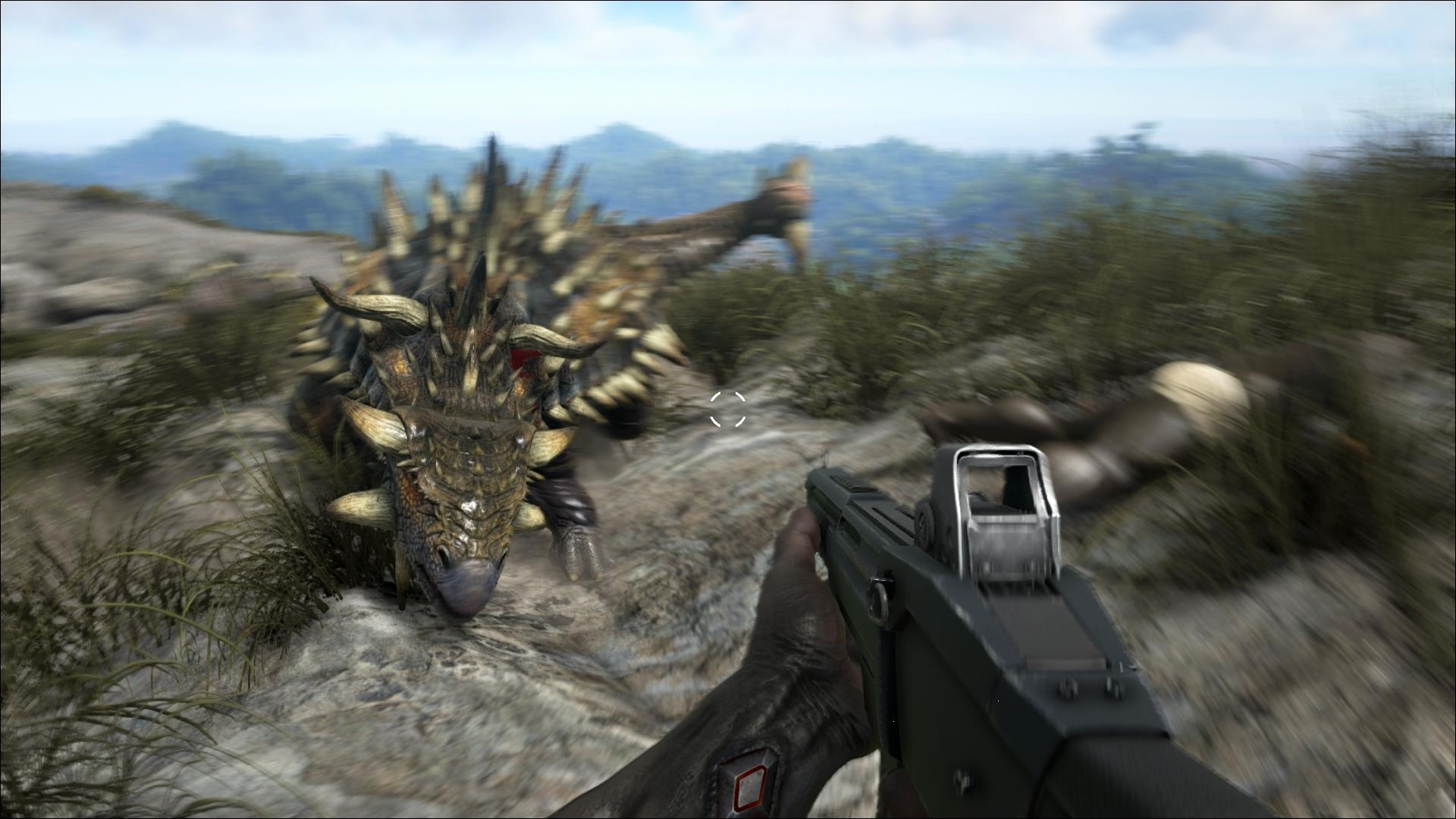 ARK Survival Evolved bietet einige Waffen für den Nah und Fernkampf ARK Survival Evolved bietet einige Waffen für den Nah und Fernkampf