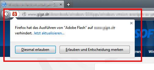 Firefox Flash Erlauben