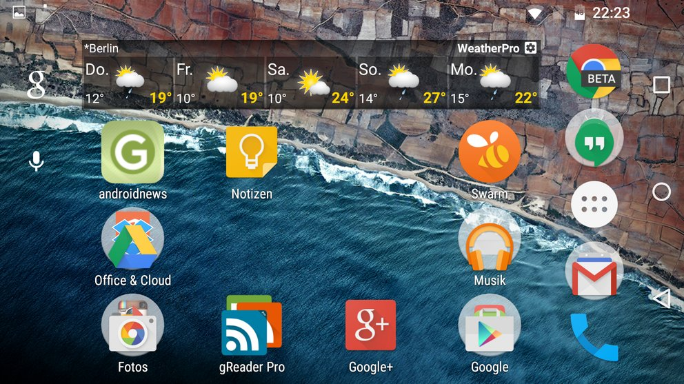 Android-M-Preview-2-Homescreen