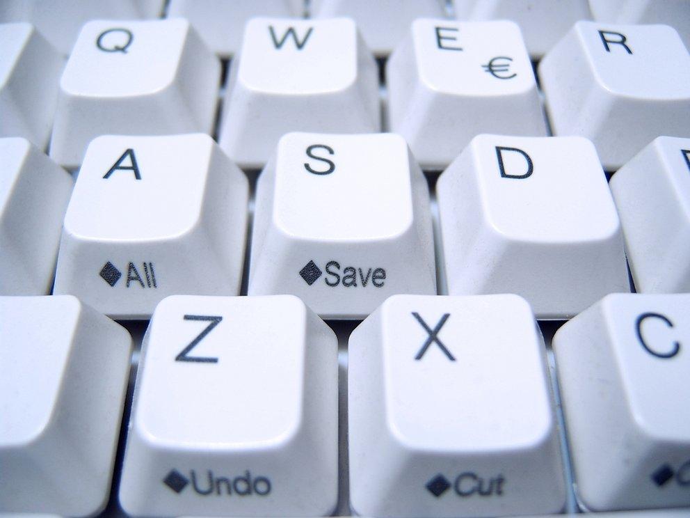 Außer Taste auf Tastatur