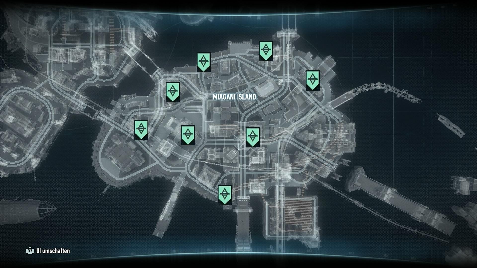Batman Arkham Knight Das Perfekte Verbrechen Karte