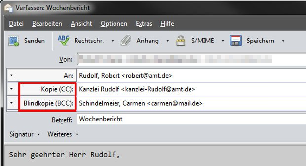 Cc Bei Email Bedeutung