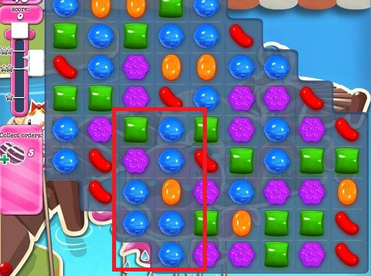 Candy Crush Level 130