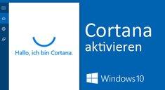 Cortana aktivieren in Windows 10 und auf Sperrbildschirm – so geht's