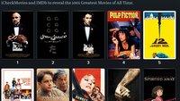 Die 1001 besten Filme: Jemand hat die Bewertungen von IMDb, Rotten Tomatoes, Metacritic und Letterboxd zusammengerechnet