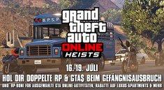 GTA 5: Doppelt so hohe Belohnungen für Online-Heist
