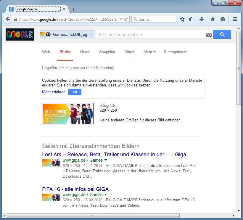Google findet Bilder im Internet durch die umgekehrte Bildersuche wieder.