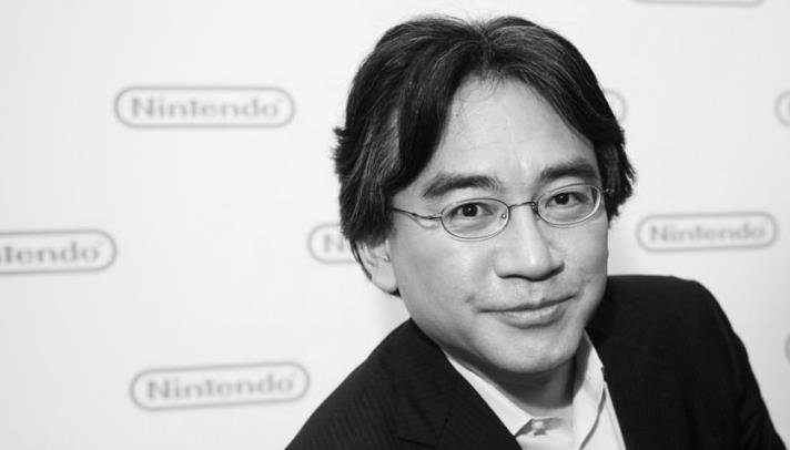 Iwata Portrait Black and White