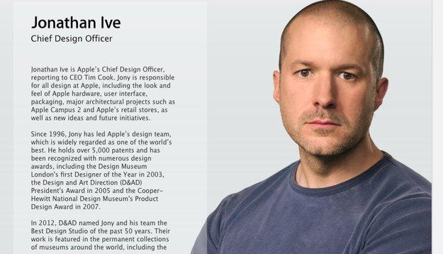 "Jony Ive jetzt offiziell Apples ""Chief Design Officer"""